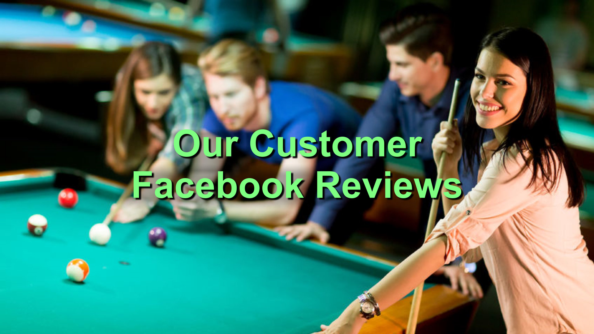 our customer facebook reviews