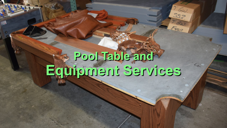 pool table and equipment services